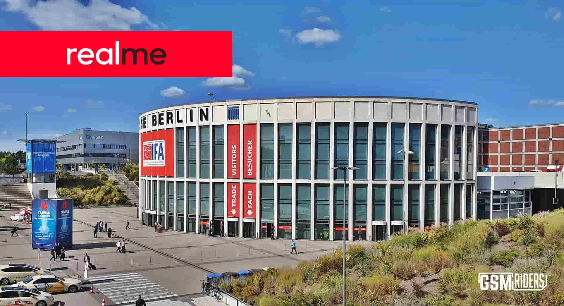 Realme for the first time at IFA Berlin